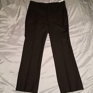 Zara black cropped trousers size 2